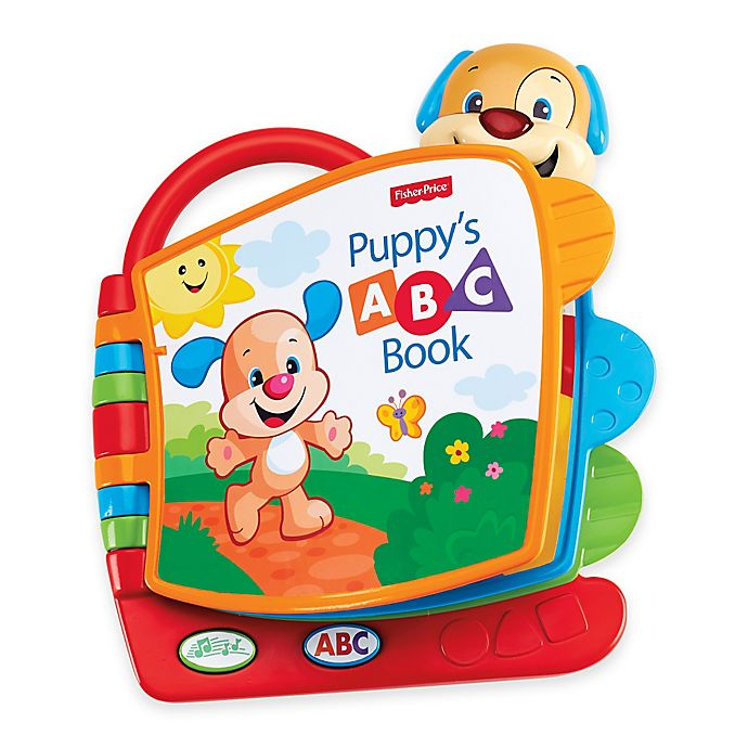 Alternate image 1 for Fisher-Price® Laugh & Learn™ Puppy's ABC Book