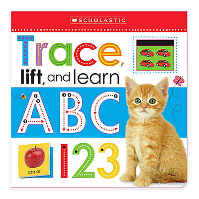 "Scholastic ""Trace, Lift, and Learn: ABC 123"" Board Book"