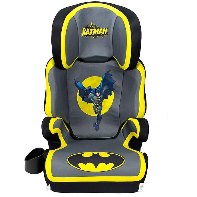 Alternate image 1 for KidsEmbrace® DC Comics Batman High Back Booster Car Seat