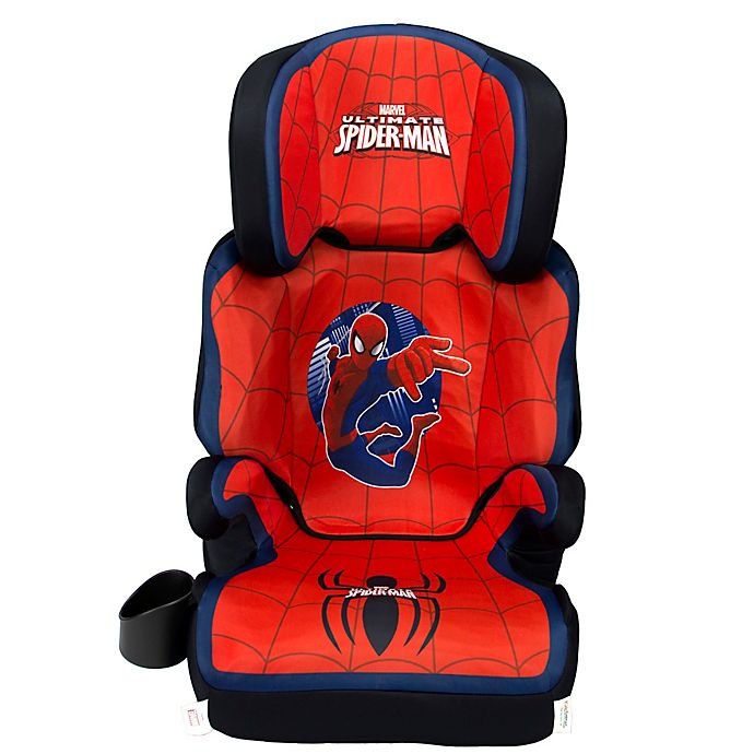 Alternate image 1 for KidsEmbrace® Marvel Ultimate Spider-Man High Back Booster Car Seat