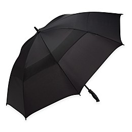 Shedrain® Windjammer Vented Golf Rain Umbrella in Black