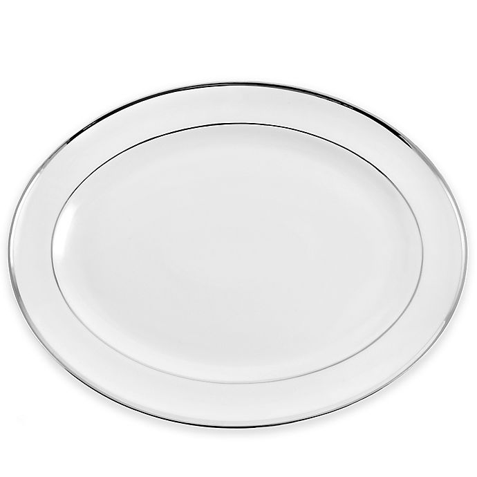 Alternate image 1 for Pickard® Signature Platinum 13.78-Inch Oval Platter