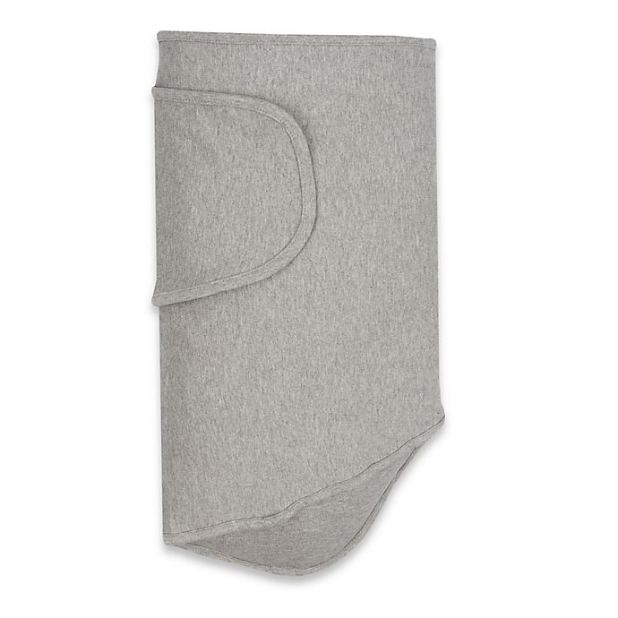 Alternate image 1 for Miracle Blanket® Swaddle in Grey