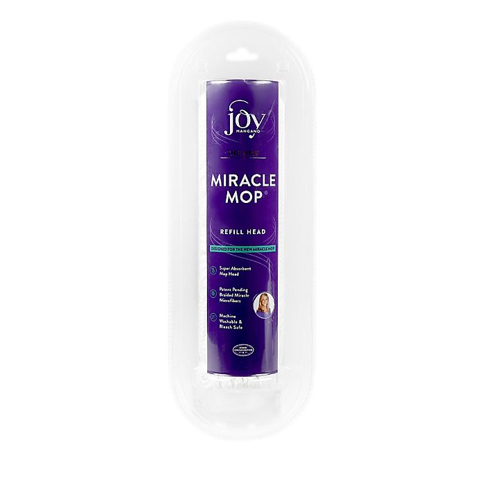 Alternate image 1 for Joy Mangano Miracle Mop® Replacement Head