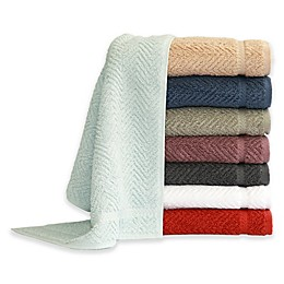 Herringbone Bath Towels