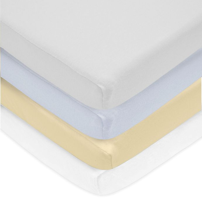 Alternate image 1 for Live Good™ Organic Supima® Cotton Fitted Crib Sheet