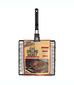 Rejilla para asar antiadherente y expandible Just Grillin®