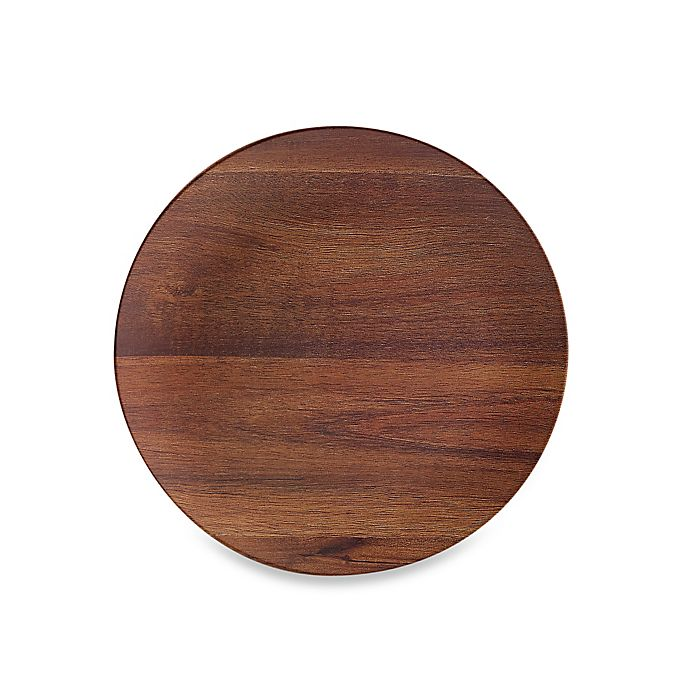 Alternate image 1 for Phocacia Salad Plate in Brown