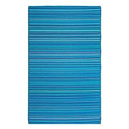 FH Home™ Havana 5' x 7' Indoor/Outdoor Area Rug in Turquoise