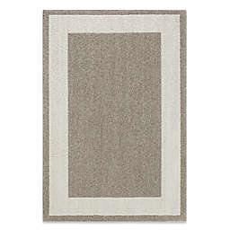 Classic Border 3-Foot 4-Inch x 5-Foot Accent Rug