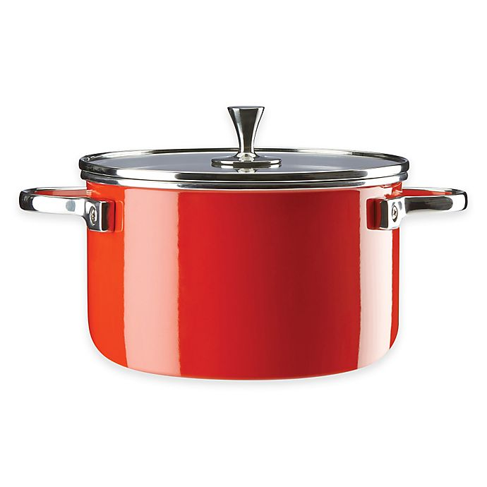Alternate image 1 for kate spade new york All In Good Taste 4 qt. Casserole in Red