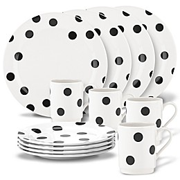 kate spade new york All in Good Taste™ Deco Dot 12-Piece Dinnerware Set