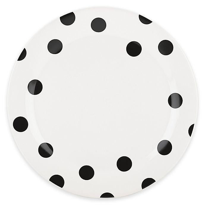 Alternate image 1 for kate spade new york All in Good Taste™ Deco Dot Dinner Plate