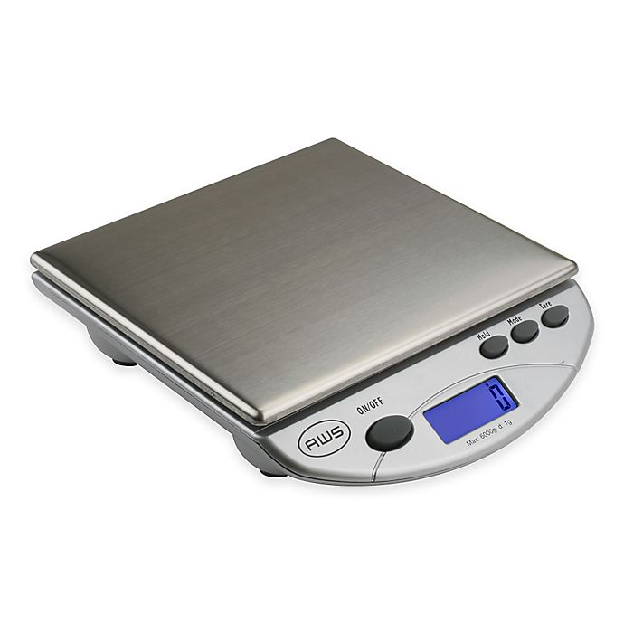 Alternate image 1 for American Weigh Scales Digital Kitchen/Postal Scale