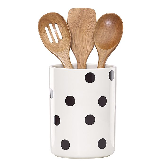 kate spade new york All in Good Taste™ Deco Dot Utensil ...