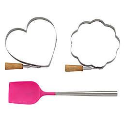 kate spade new york All In Good Taste 3-Piece Pancake Molds and Utensil