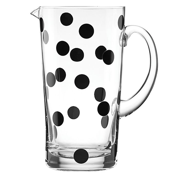 Alternate image 1 for kate spade new york All in Good Taste™ Deco Dot Pitcher