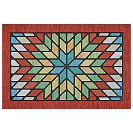 Mohawk Home®  Vintage Star 20-Inch x 30-Inch Door Mat