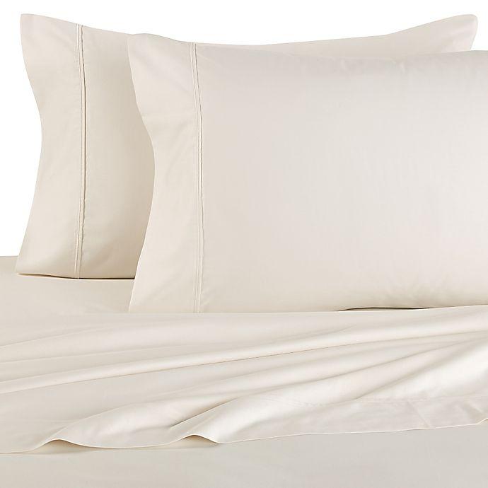 Alternate image 1 for Brookstone® BioSense™  500-Thread-Count King Sheet Set in Ivory