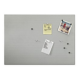 Umbra® Perforated Magnetic Bulletin Board in Brushed Nickel