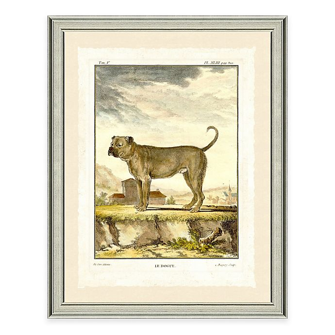 Alternate image 1 for Dog Scene II Framed Wall Art Print