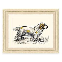 Hunting Dog IV Framed Art Print
