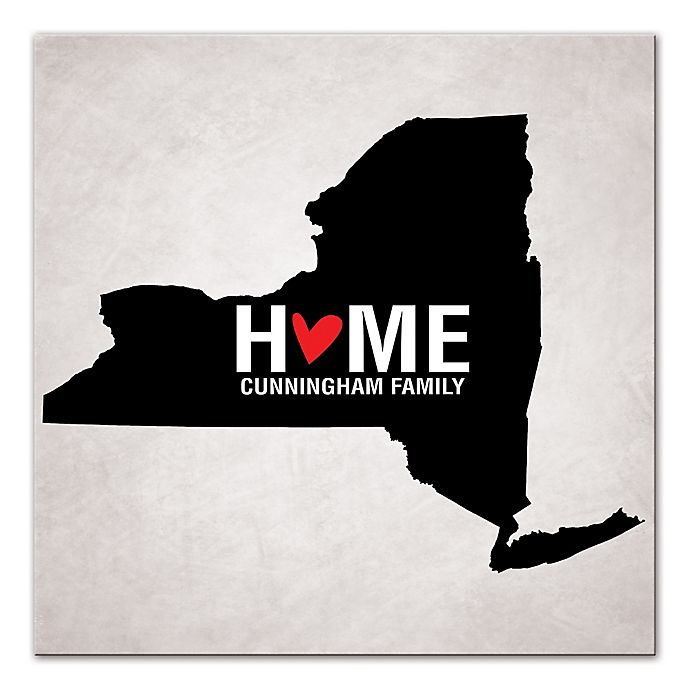Alternate image 1 for Pied Piper Creative New York State Pride Canvas Wall Art