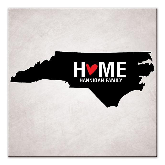 Alternate image 1 for Pied Piper Creative North Carolina State Pride Canvas Wall Art