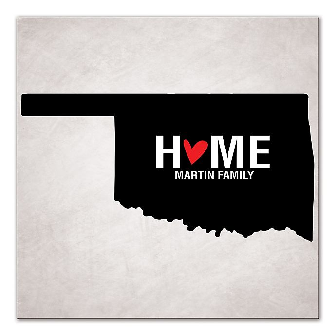 Alternate image 1 for Pied Piper Creative Oklahoma State Pride Canvas Wall Art