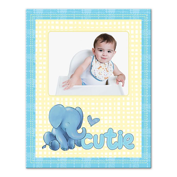 Alternate image 1 for Elephant Cutie Canvas Wall Art