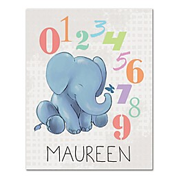 Alphabet Numbers Canvas Wall Art