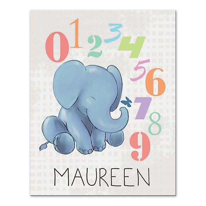 Alternate image 1 for Alphabet Numbers Canvas Wall Art