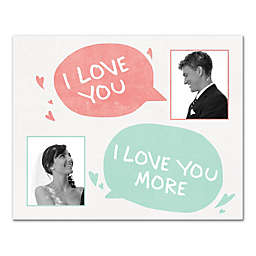 I Love to Talk with You Canvas Wall Art