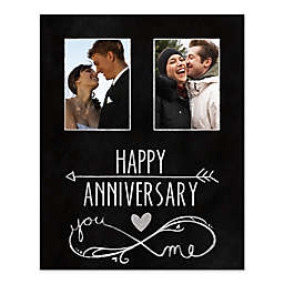 Anniversary You and Me Canvas Wall Art