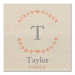 Family Name Canvas Wall Art