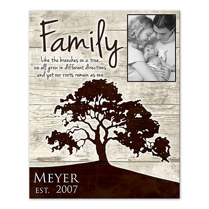 Alternate image 1 for Family Roots Canvas Wall Art