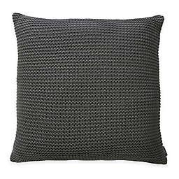 Nevada European Pillow Sham in Grey