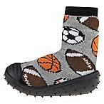 Capelli New York Size 6M Pick A Sport Slipper Socks in Black