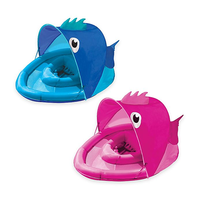Alternate image 1 for Aqua Leisure® Fabric Covered Fun Fish Baby Float