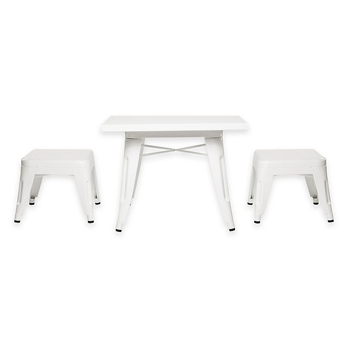 Alternate image 1 for Babyletto 3-Piece Lemonade Table and Stool Set