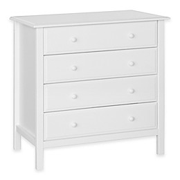 DaVinci Jayden 4-Drawer Dresser in White