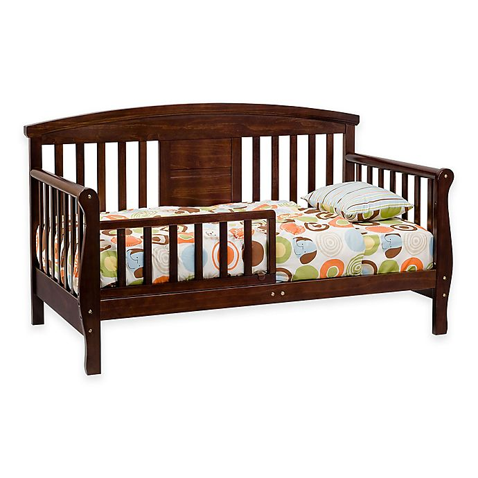 Alternate image 1 for DaVinci Elizabeth II Convertible Toddler Bed in Espresso