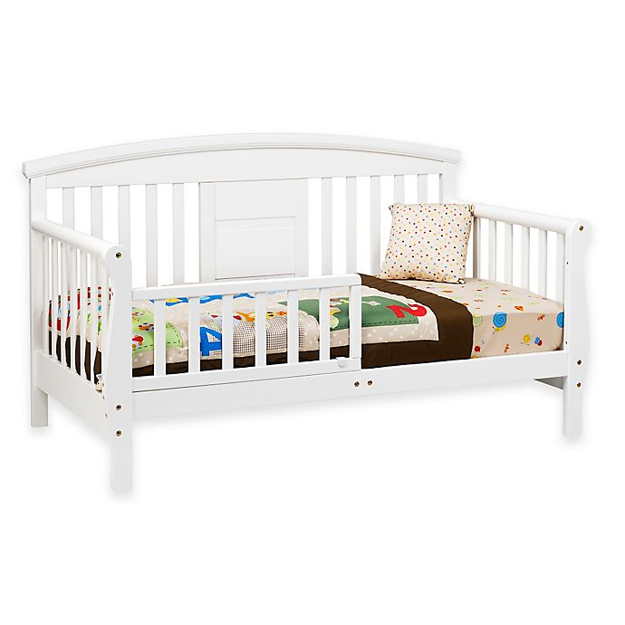 Alternate image 1 for DaVinci Elizabeth II Convertible Toddler Bed in White