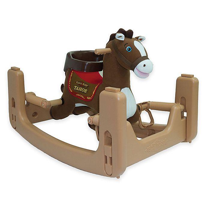 Alternate image 1 for Tek Nek Rockin' Rider Tahoe Grow-With-Me Pony