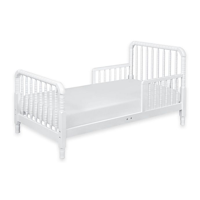 Alternate image 1 for DaVinci Jenny Lind Toddler Bed in White