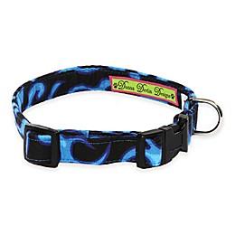 Donna Devlin Designs® Blue Flame Adjustable Dog Collars
