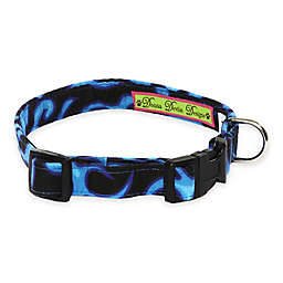 Donna Devlin Designs® Blue Flame Adjustable Dog Collars