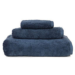 Soft Twist Bath Towel in Midnight Blue