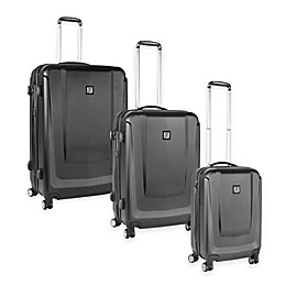 ful® Load Rider 8-Wheel Hardside Spinner Luggage Collection in Black