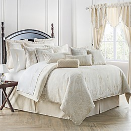 Waterford® Linens Paloma Reversible Comforter Set in Ivory